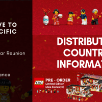 2019 LEGO Exclusive Asian Pacific sets market distribution information and start of pre-order