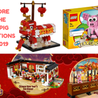 LEGO Singapore promotions for Lunar New Year 2019