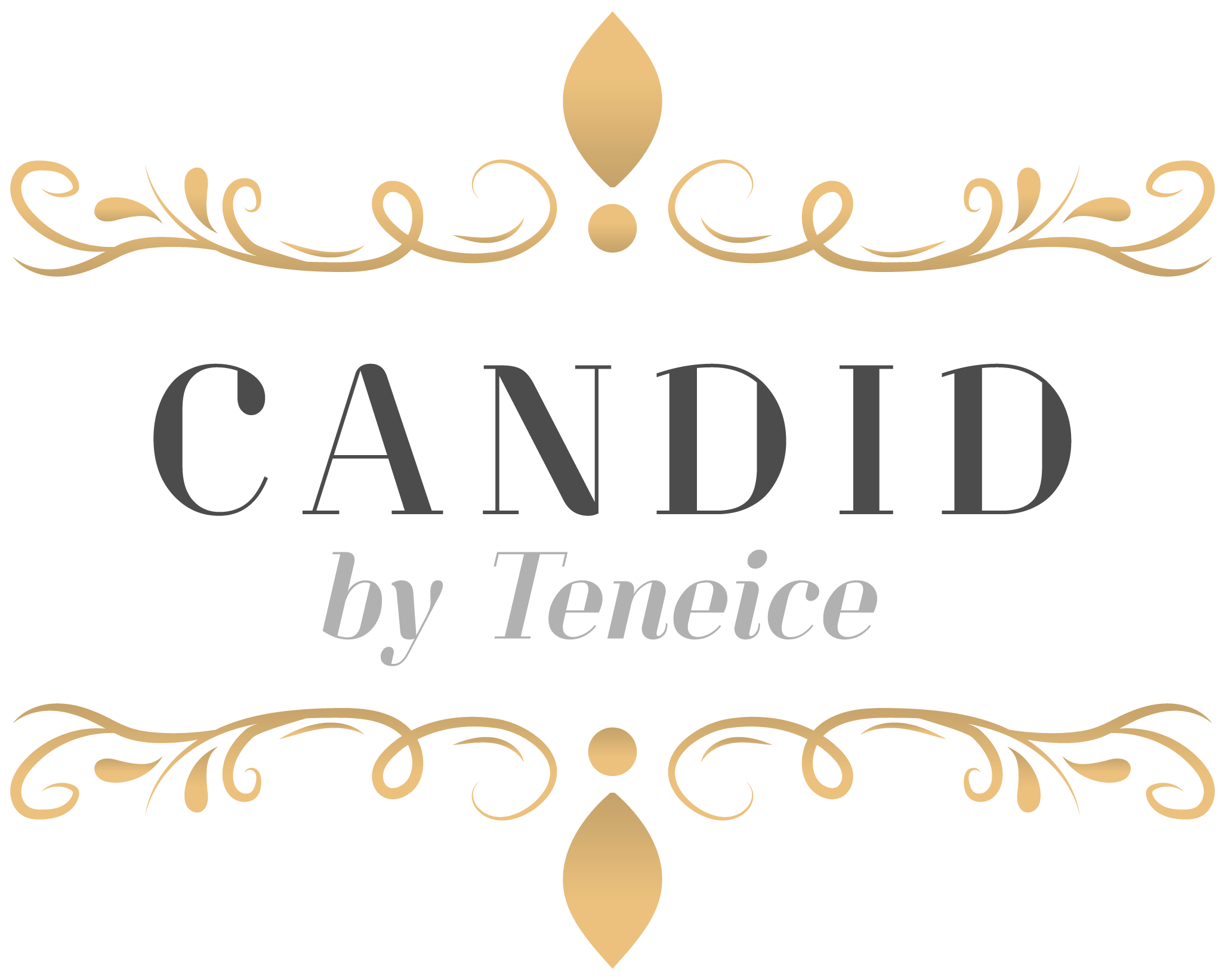 Candid by Teneice Logo