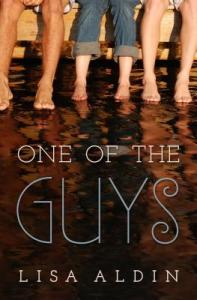 Book cover for One of the Guys by Lisa Aldin.