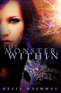 book cover for The Monster Within by Kelly Hashway.
