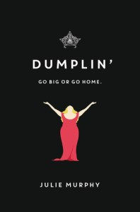 Book cover for Dumplin' by Julie Murphy.