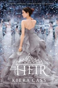 Book cover of The Heir by Kiera Cass.