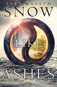 Book cover for Snow Like Ashes by Sara Raasch.