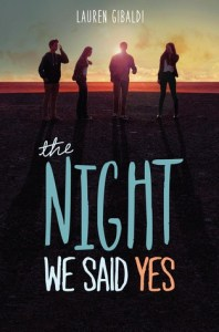 Review & Playlist: The Night We Said Yes by Lauren Gibaldi