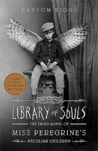 Book cover for Library of Souls by Ransom Riggs.