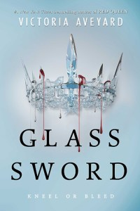 Book cover for Glass Sword by Victoria Aveyard.