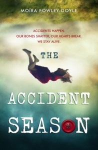 Book cover for The Accident Season by Moïra Fowler-Doyle.