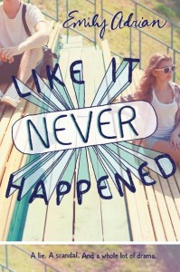 Book Review: Like It Never Happened by Emily Adrian