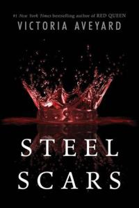 Book cover for Steel Scars by Victoria Aveyard