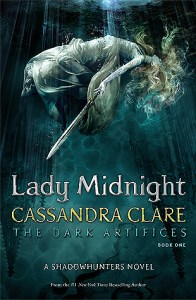 Book cover for Lady Midnight by Cassandra Clare.