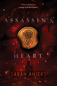 Book cover for Assassin's Heart by Sarah Ahiers
