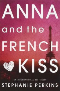 Book cover for Anna and the French Kiss by Stephanie Perkins.