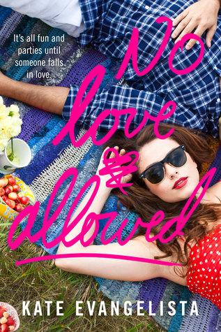 Book cover for No Love Allowed by Kate Evangelista
