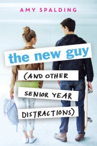 Book cover for The New Guy by Amy Spalding