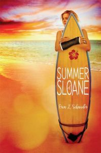 Book cover for Summer of Sloane by Erin L. Schneider