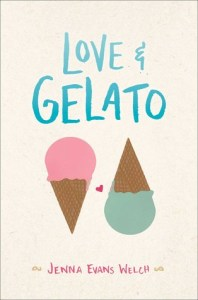 Book cover for Love & Gelato by Jenna Evans Welch