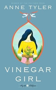 Book cover for Vinegar Girl by Anne Tyler
