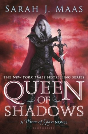 Book cover for Queen of Shadows by Sarah J. Maas