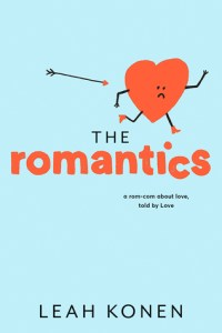 Book cover for The Romantics by Leah Konen