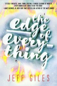 Book cover for The Edge of Everything by Jeff Giles