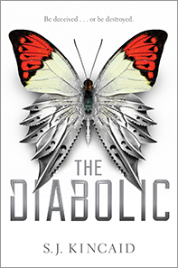 Book cover for The Diabolic by S.J. Kincaid