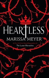 Book cover for Heartless by Marissa Meyer
