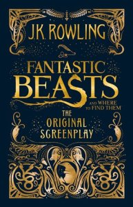 Book cover for Fantastic Beasts by J.K. Rowling