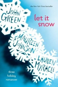 Book cover for Let it Snow by John Green