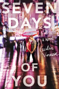 Book cover for Seven Days of You by Cecilia Vinesse