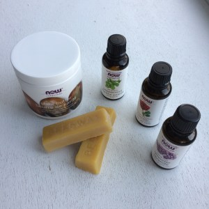 Image of natural beauty products