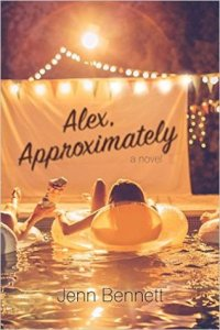 Book cover for Alex, Approximately by Jenn Bennett