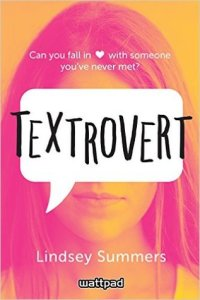Book cover for Textrovert by Lindsey Summers
