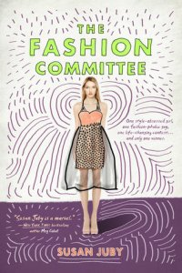 Book cover for The Fashion Committee by Susan Juby