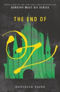 Book cover for End of Oz by Danielle Paige