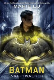 Book cover for Batman by Marie Lu.