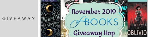 November 2019 Book Giveaway Hop