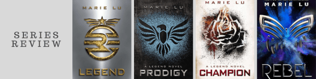 Series Review: Legend by Marie Lu