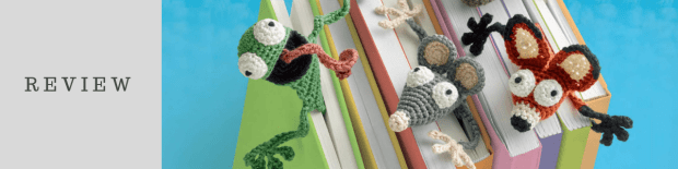 Review: Bookies: Bookmarks to Crochet