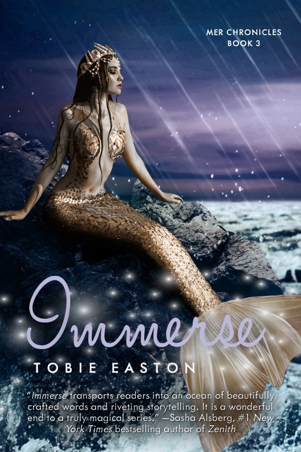 Book cover for Immerse by Tobie Easton