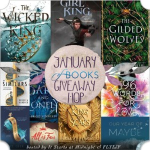 Banner for the January 2019 book giveaway hop