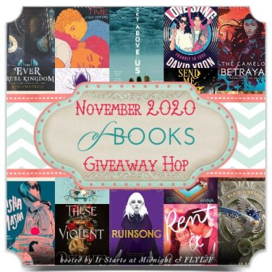November 2020 Book Giveaway