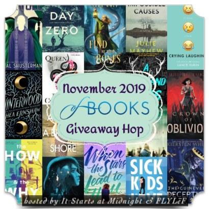 November 2019 Book Giveaway