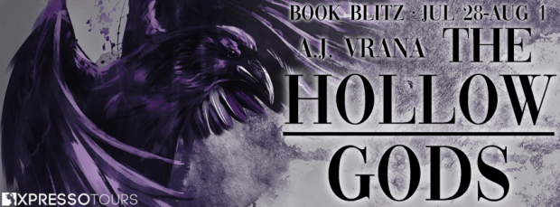 Giveaway: The Hollow Gods by A.J. Vrana