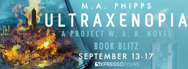 Amazon Giveaway: Ultraxenopia by M.A. Phipps