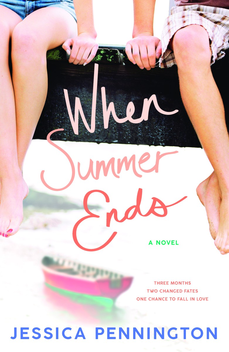 Cover Reveal & Giveaway: When Summer Ends by Jessica Pennington