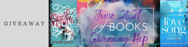 June 2021 New Release Book Giveaway