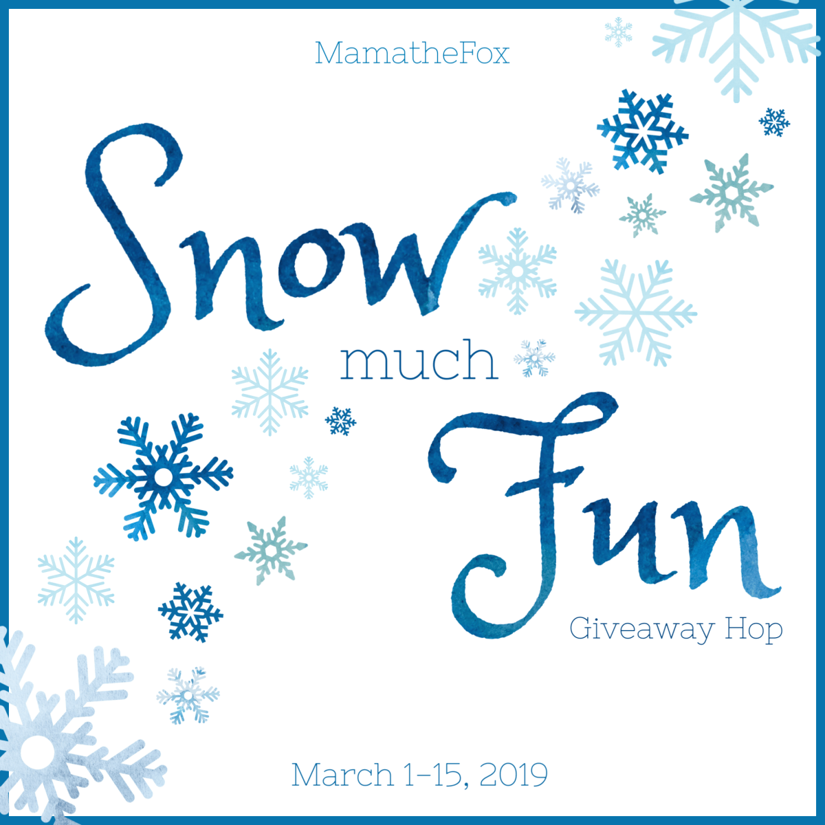 Amazon Gift Card: Snow Much Fun Giveaway Hop