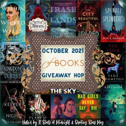 October 2021 book giveaway