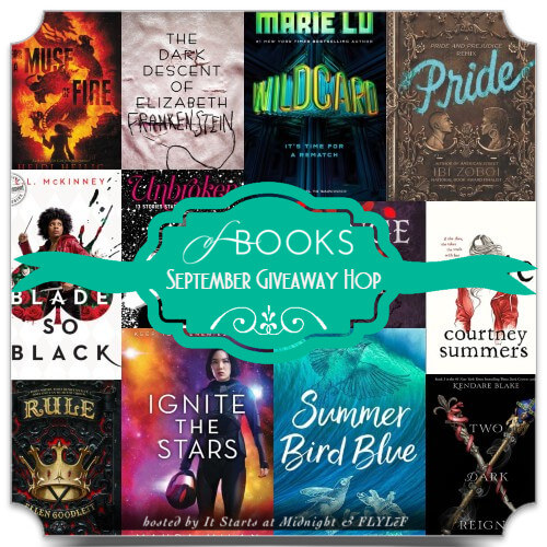 Book Giveaway Hop: September 2018 New Releases